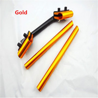 Motorcycle Modified 22mm 7 8 Handlebars Handle Bar Motorcycle Sport Bike 5 Colors One Piece Welding