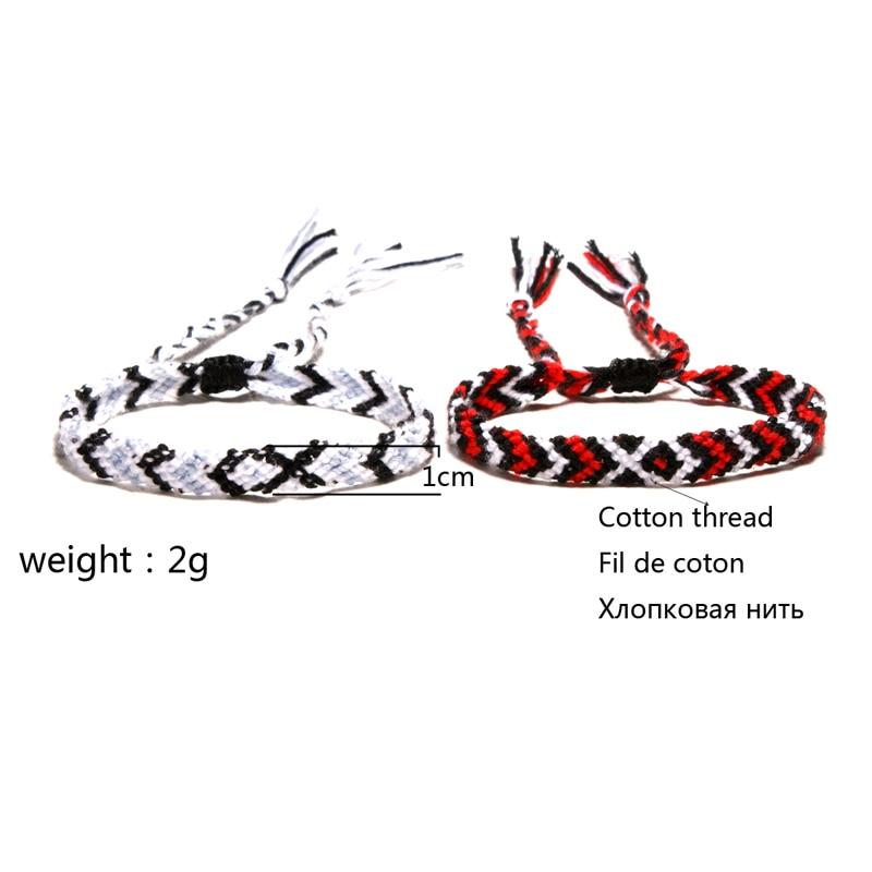 MOON GIRL Bohemian Hand Weave Friendship Bracelets for Women Fashion Unisex Braided Chic Pulseras Femme Couple Jewelry Dropship