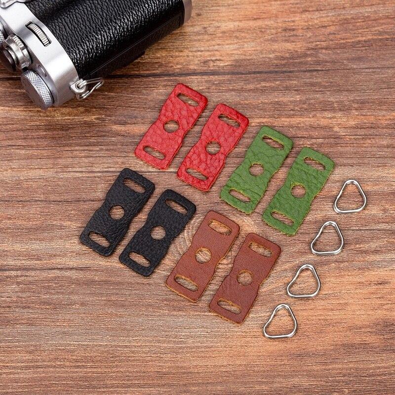 LXH Camera Strap PU Leather Protector Cover Strap Lug Ring For Fujifilm Lecia Nikon Canon Sony