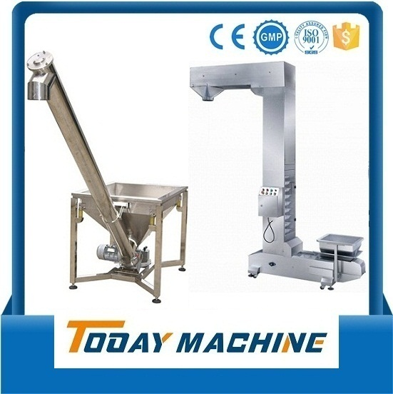 Spiral Loader/ Screw Conveyor For Lifting Powder Or Plastic Pellet Relay