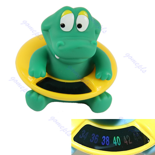 Infant Baby Bath Tub Water Temperature Tester Toy Animal Shape Thermometer