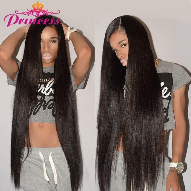 Beautiful Princess Peruvian Straight Hair Weave Bundles 8 28 Human