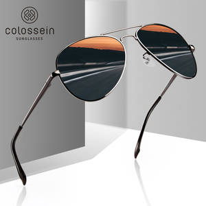 COLOSSEIN Sunglasses Men Polarized Pilot Glasses For Women