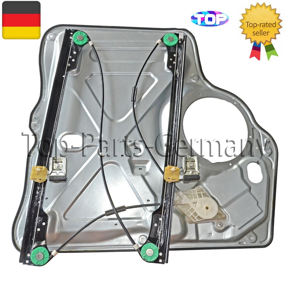 WINDOW UP COMPLETE METAL PLATE 7H0837753 FRONT LEFT FOR VW T5 Transporter * NEW * 7H0837753B 7H0837753A