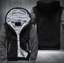 USA EU size Plus size Fashion Print Hoodies Men  Thicken Fleece Sweatshirts Long Sleeve Jacket Free Shipping