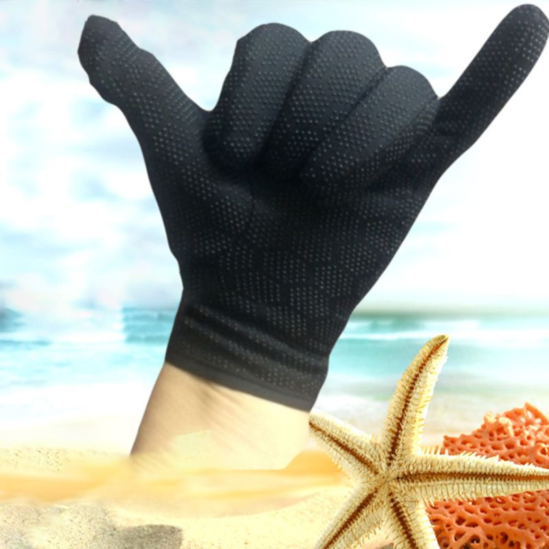 1 Pair Anti Cut Stab Resistant Protective Hand Gloves Cut Resistant Waterproof Anti Slip Fishing Technician Safety Accessory in Swimming Gloves from Sports Entertainment