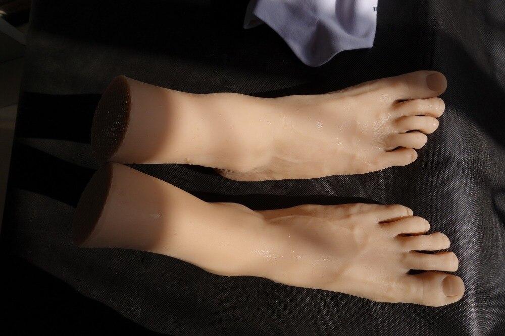Männliche Weibliche Füße Anbetung Wildschwein