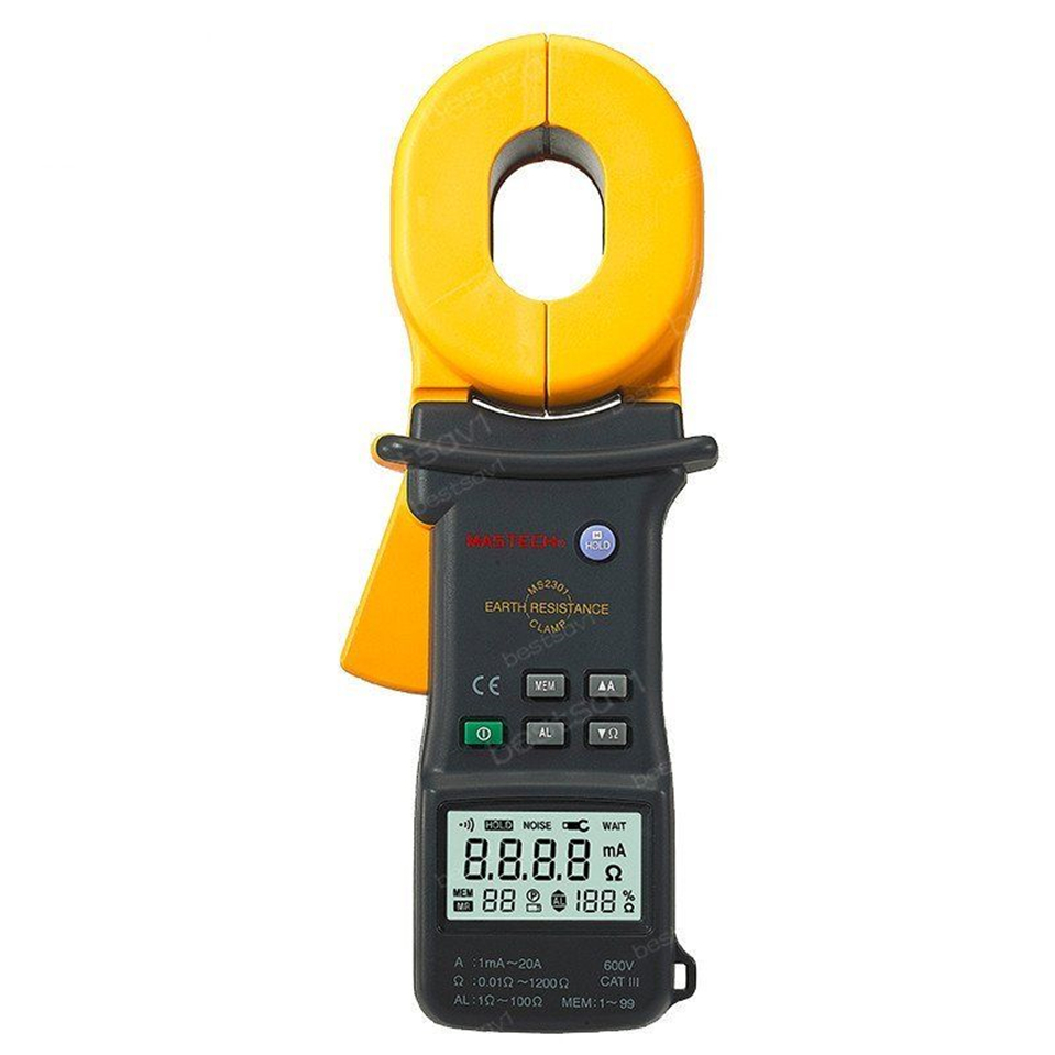 Hot MS2301 Advanced Earth Ground Resistance Clamp Meter Clamp-type digital earth ground resistance tester earth resistance tester se ar4105a se ar910a