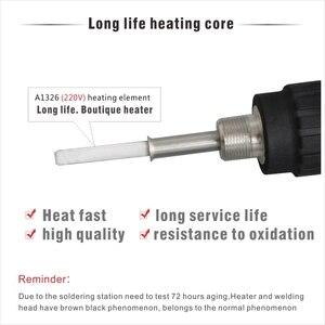 Image 4 - Profesjonalna lutownica LED cyfrowa regulowana lutownica elektryczna 60W stała temperatura CXG E90W E110W E60WT