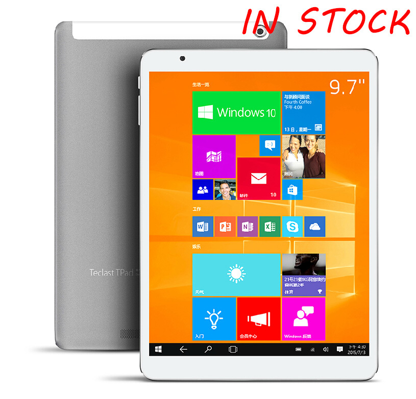 New arrival 9 7 Teclast X98 pro windows 10 Android 5 0 dual os wifi font