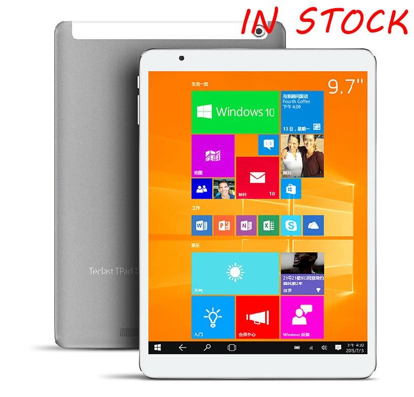 "New arrival 9.7"" Teclast X98 pro windows 10 /Android 5.0 dual os wifi Tablet PC 2.24GHz Retina Screen 2048x1536 4GB RAM 64GB"
