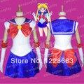 Das Mulheres livres do Transporte Dos Desenhos Animados Vestido Navy Sailor Moon Cosplay Sailor Moon Costume