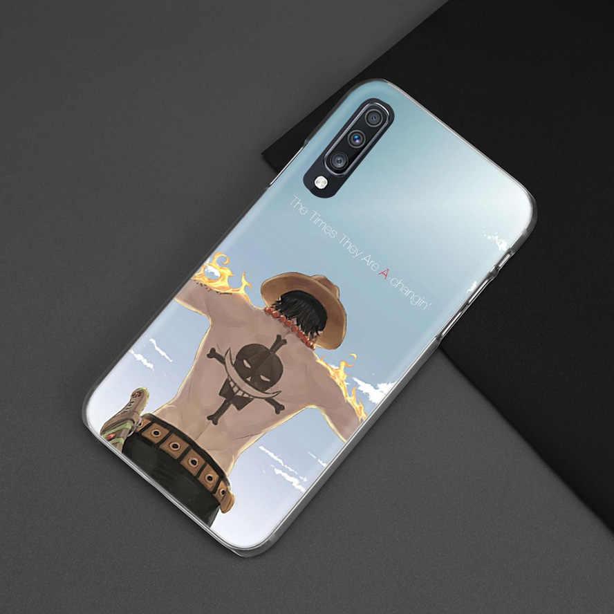 Tek Parça Beyaz Sakal samsung kılıfı Galaxy M40 A50 A80 A70 A60 A40 A30 A20e A10 J4 J6 Artı J8 2018 s10e Sert PC telefon kılıfı Kapak