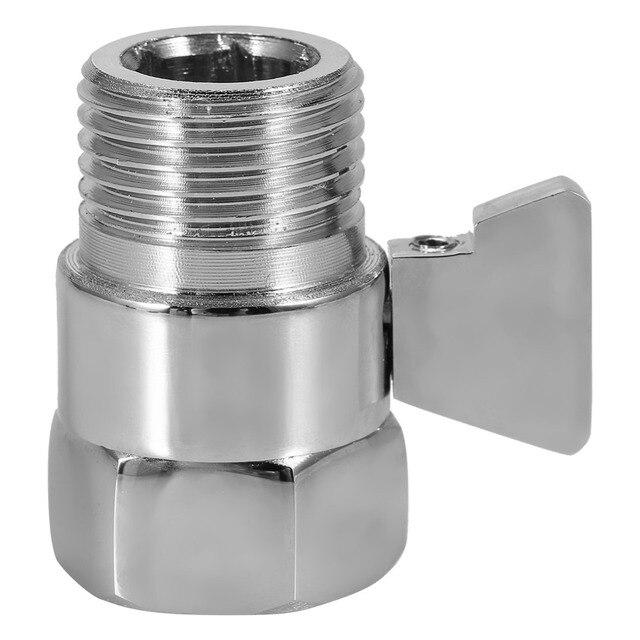 Shower Head Flow Control Valve Brass Shower Head Valve Shut OFF Valve  Switch For Shower Head