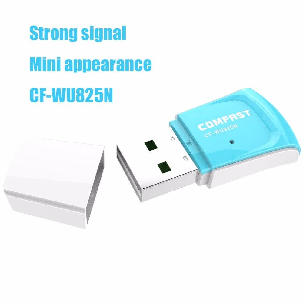 300Mbps Adaptador Wi-fi Receptor Wifi Usb Wi-fi Adapter Wifi Access Point Wifi RTL8192CU Wireless Wi Fi Dongle COMFAST CF-WU825N