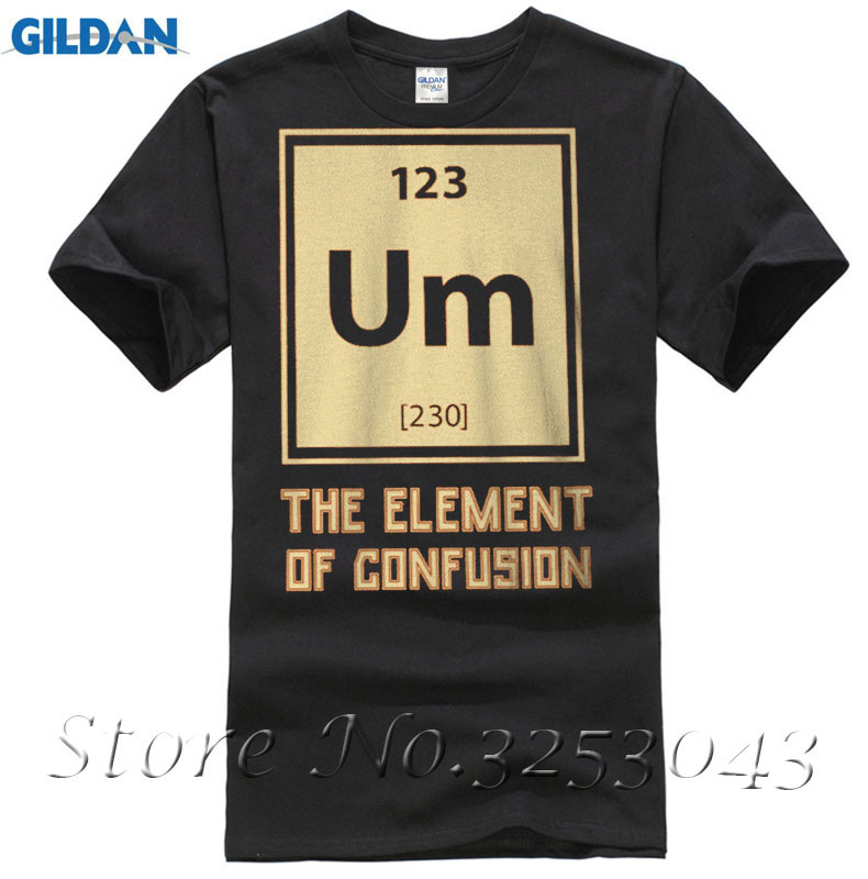 Um the element of confusion periodic table mens whitet shirt new um the element of confusion periodic table mens whitet shirt new sizes s 3xl in t shirts from mens clothing accessories on aliexpress alibaba urtaz Image collections