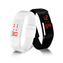 LED Digital Watch Electronic Wristwatches Korean Lovers Men Women Watches Creative Calendar Colorful Rubber Smart Montre Femme