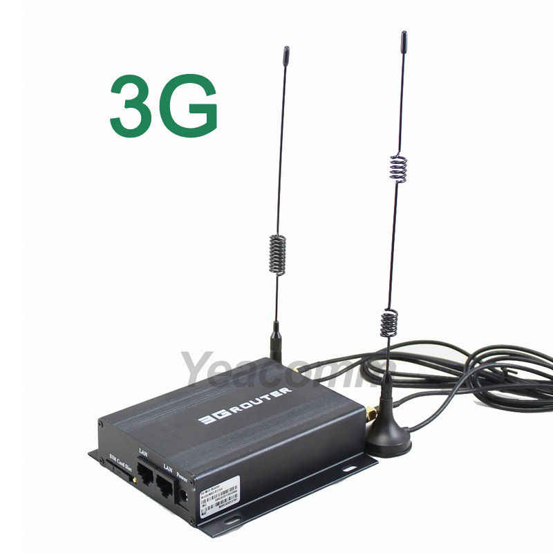 R220 Series mobile 12V 24V ethernet taxi car wifi 3g router with sim card slot and external antenna
