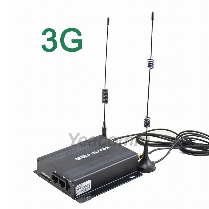 Mobilni 12V 24V ethernet taksi avtomobil serije WiFi 3G usmerjevalnik z režo za sim kartico in zunanjo anteno