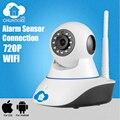 Chuangkesafe 720 P CCTV WIFI cámara IP Megapixel HD Inalámbrico Digital IR cámara ip de Visión Nocturna Por Infrarrojos de Seguridad sistema de alarma