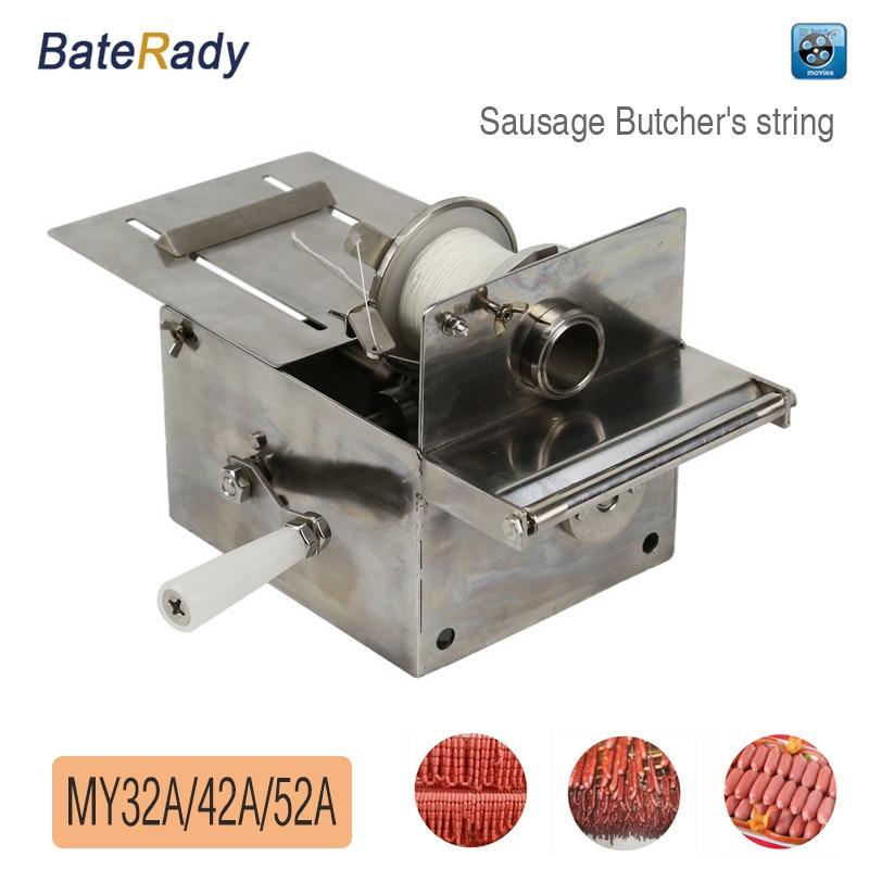 MY32A / 42A / 52A BateRady Handvat rvs worstknopen machine, worst - Keuken, eetkamer en bar