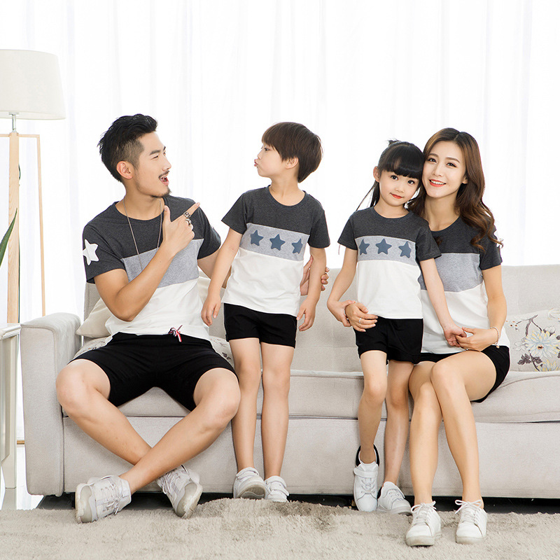 HTB1UKI1mr9YBuNjy0Fgq6AxcXXaZ - Lovers Suit T Shirt Family Matching Outfits Mother Father Kids Girl Boys Shirts Clothes Mom Dad Son Outfits Family Look Clothing