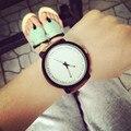 Mujeres de los hombres Relojes de Pulsera de Cuero 2017 de La Moda de Estilo Simple Reloj de Cuarzo Damas Casual Analógico de Cuarzo reloj de los Pares Reloj Relogio