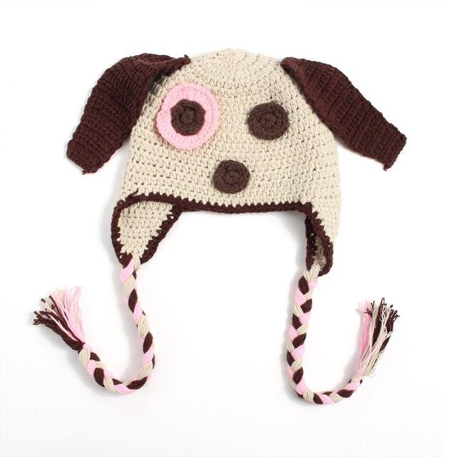 0ddd5743c5 Cobertor de Lã Bebê recém-nascido Bonito 100% Artesanal Infantil Mão-tecido  Cães