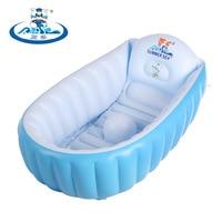 環境pvc新生児インフレータブルバスタブ風呂の幼児風呂浴槽ベビースイミングプール子供浴