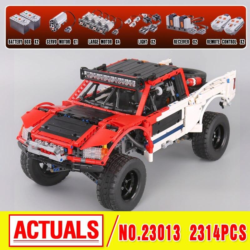 Lepin 23013 Genuine 2314Pcs Technic Series The Remote-Control Off-road Car Set Building Blocks Bricks birthday gifts boys girls