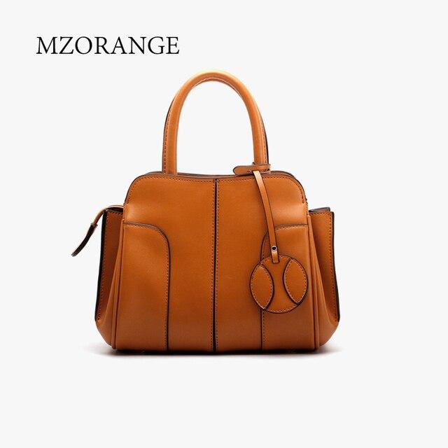 80f0a4cf78 Genuine Leather Luxury Handbags Women Bag Fashion Trapeze Designer Ladies Casual  Tote Shoulder Crossbody Bag Big small size 2018