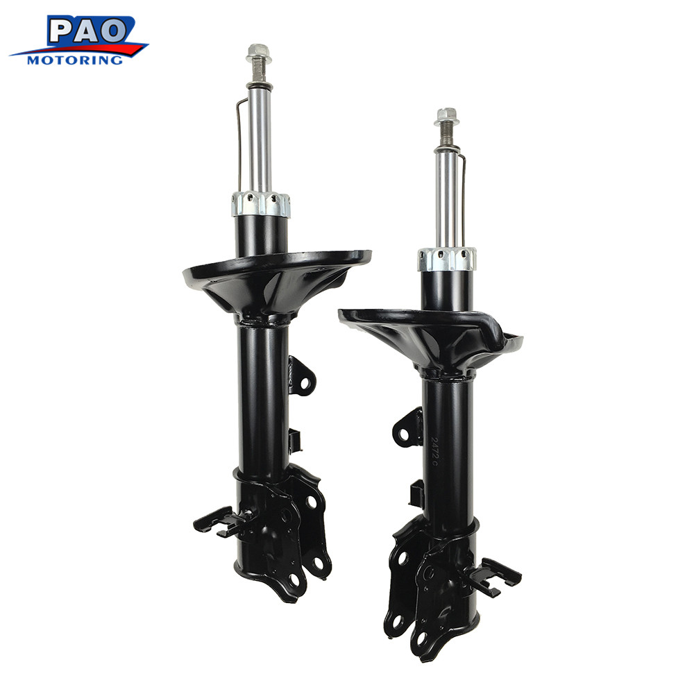 2PC New Rear Left and Right Pair Shocks Struts Absorber For Hyundai Elantra 2000-2006 OEM 71407,71406 Car Suspension Parts Auto dhl ems free shipping for bmw x5 rear left right air suspension spring bag 37126790078 cars spring bag