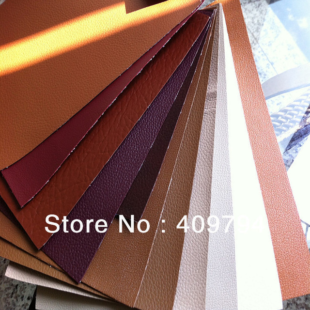 pvc leather for sofa chair stock in hands