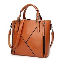 SFG HOUSE New Vintage Women Large Crossbody Bags Tote 2017 Fashion PU Leather Zipper Shoulder Bag