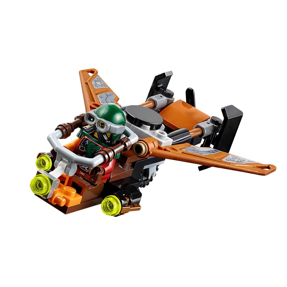 Image 3 - Ninjagoe Kit 70605 757pcs Building Blocks Compatible Legoe toys for Childrens Bricks Model Boy Gift Misfortune's Keep-in Blocks from Toys & Hobbies