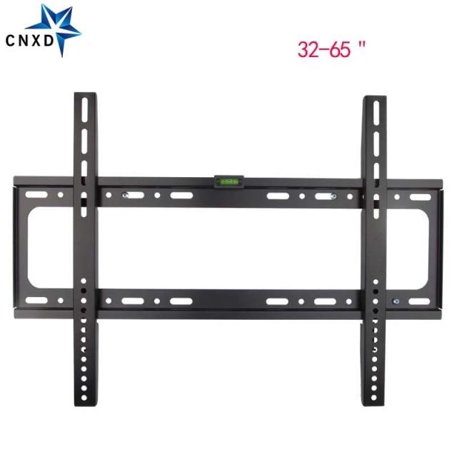 Universal Ultra Slim Fixed Tv Wall Mount Bracket Flat Panel Stand Holder Frame For 32 65 Inch Plasma Hdtv Lcd Led Monitor