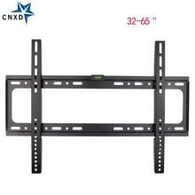 Universal Ultra Slim Fixed TV Wall Mount Bracket Flat Panel TV Stand Holder Frame for 32-65 Inch Plasma TV HDTV LCD LED Monitor