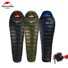 Naturehike новый открытый утка вниз спальный мешок Мумия спальный мешок зимний спальный мешок NH15D800-K
