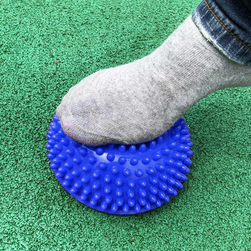 Надувная Половина Йога мяч Упражнение Фитнес-Оборудование тренировка баланса доска точечный массаж мяч доска для детей учебная доска