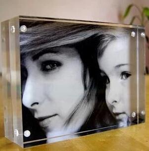 Akrylfotoram178 * 127mm akrylfotoram för marknadsföring, OEM, ODM - Heminredning - Foto 2
