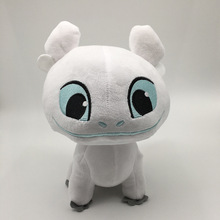 Dragon 3 18cm Plush Toy Light Fury Soft White Stuffed Animals Doll