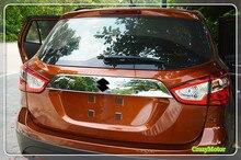 For Suzuki sx4 s-cross 2014-2018 ABS Chrome Car Rear trunk tailgate garnish strip cover trim Auto accessories