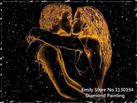 Making LOVE In The Night DIY Diamond Painting By Numbers Full Embroidery Canvas Needlework Diamond Painting