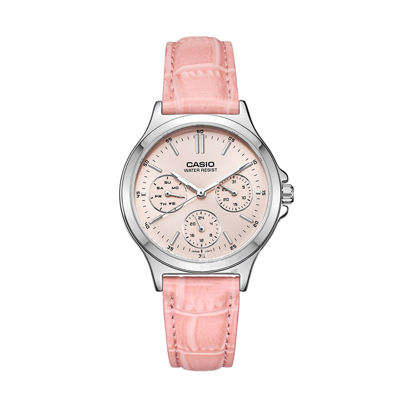 Casio Watch Pointer series three eyes timing quartz watch LTP V300L 4A