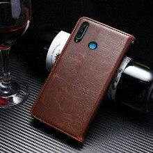 Leather Case For Huawei P30 Lite P30Lite Cover Nova 4E Book Luxury Flip Wallet 6.0