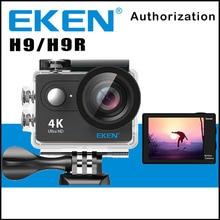 Orijinal EKEN H9/H9R Uzaktan Eylem Kamera Ultra HD 4 K WiFi 1080 P/60FPS 2.0 LCD 170D Objektif Spor Cam Su Geçirmez Pro Gitmek kamera