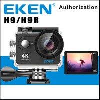 Original EKEN H9/H9R Câmera Ação Remota Ultra HD 4 K WiFi 1080 P/60FPS 2.0 LCD Lente 170D Esporte Cam Ir À Prova D' Água Pro câmera
