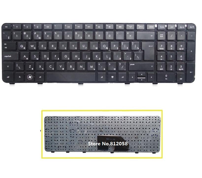 RU Keyboard for HP Pavilion DV6 DV6T DV6-6000 DV6-6100 DV6-6200 DV6-6b00 dv6-6c00 Russian black