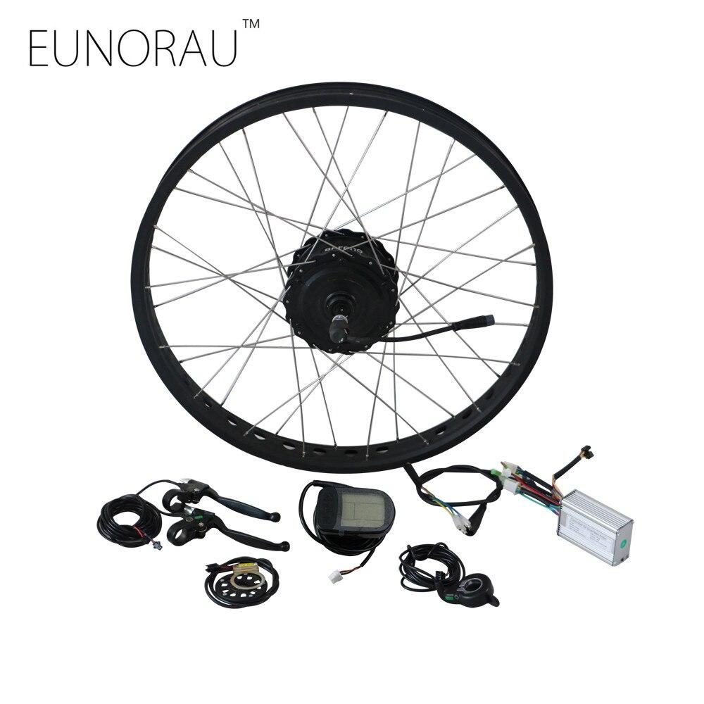 Livraison gratuite 48V750W Bafang électrique graisse vélo kit moteur ouvert taille 175mm