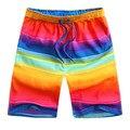 2016 Nuevos cortocircuitos de la playa, hombres Bordshorts short Shorts Para Ropa de Playa shorts junta